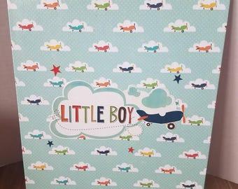 Decorative front & back clipboard (Boy)