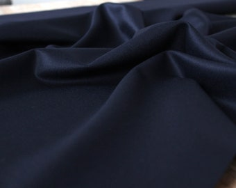Wool Super 100's Vitale Barberis Canonico Navy Blue