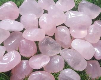 Rose quartz crystal tumblestone, Rose Quartz Crystal, Rose Quartz Stone