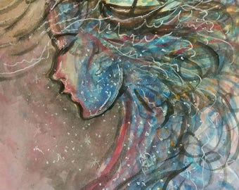 Wind in my Sail Art Print