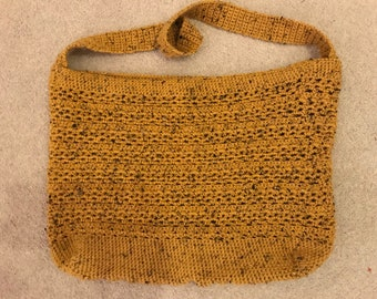 Handmade Crocheted Market Bag
