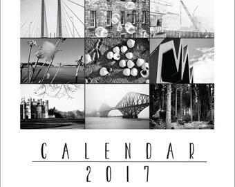 PRINTABLE 2018 DESK CALENDAR instant download, Photography calendar, Digital photo calendar, Printable calendar, A6 A5 calendar, A4 calendar