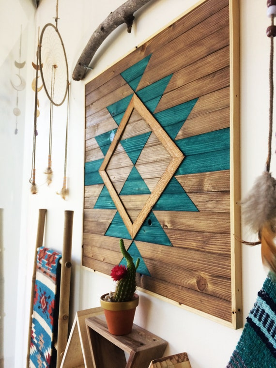 Amazing Reclaimed Wood Wall Art Wooden Wall Art Geometric Wood Art