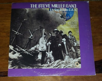Vinyl: The Steve Miller Band, Living in the U.S.A, Free Shipping