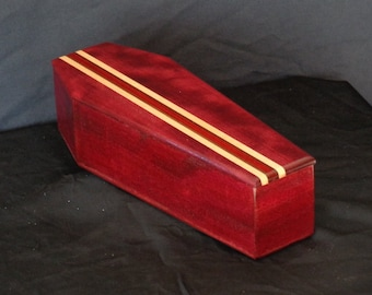 Wooden Coffin Gift Box