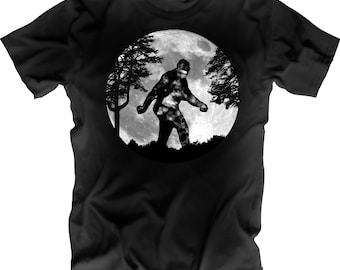 Sasquatch Moon Shirt
