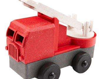 EcoTruck Fire Truck stacking toy truck made in USA