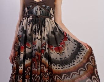 Chloe Vintage Silk Chiffon Dress