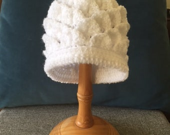 Crochet Pixie Hat 0-3 Months