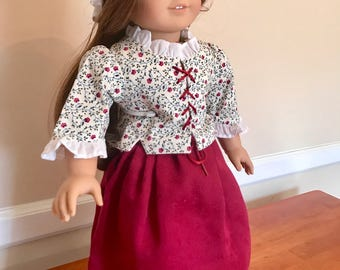 Rare American Girl Felicity Doll and Gowns!