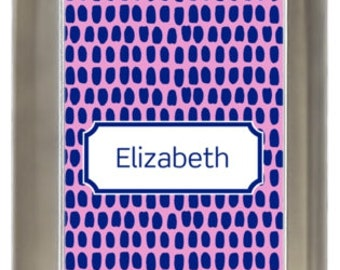 Personalized 8oz Flask - Awesome This! Patterns 137-211