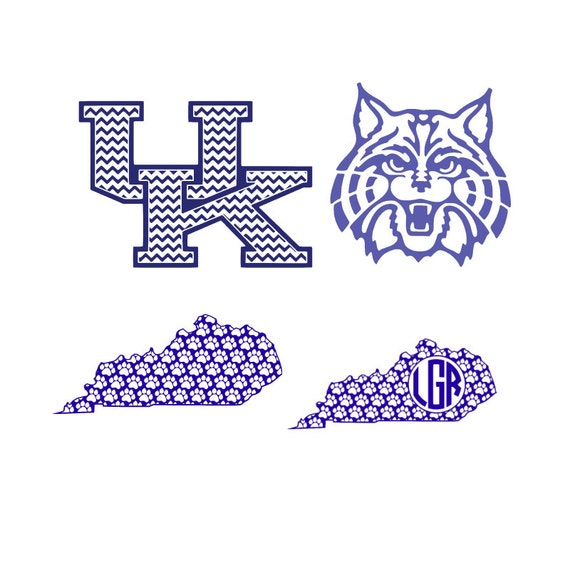 Kentucky Wildcats Jersey SVG Silhouette Studio PNG Eps PDF from ...