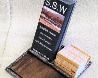 Industrial card holder, Brochure holder, Business card rack, Office supply holder, Office organizer, Industrial brochure rack, Card rack