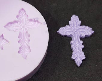 Cross mould, silicone rubber for resin
