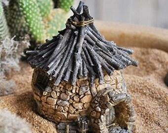 fairy gardening twig house troll hut garden supply