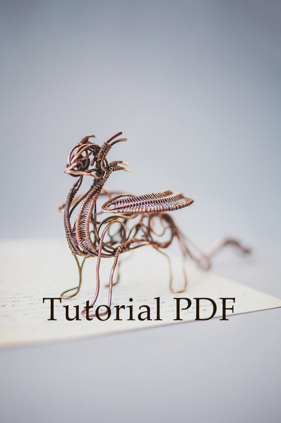 Tutorial DIY project PDF Tutorial wire wrapped sculpture