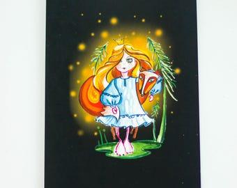 "Postcard ""Wizard"""