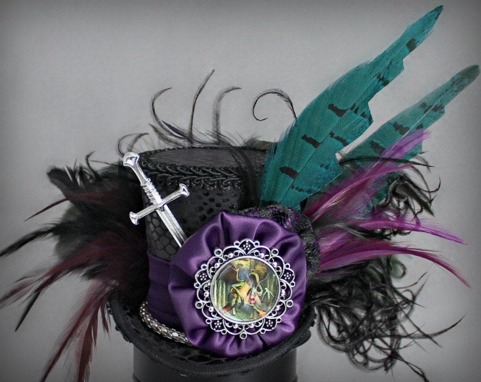 Jabberwocky Zylinder Dragon Zylinder Alice im Wunderland Hut