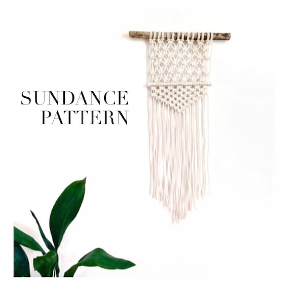 """Sundance"" Pattern for Wall Hanging, Beginner Friendly"
