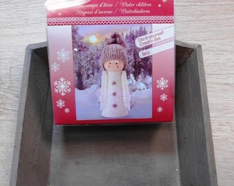 1 kit to make 1 doll Christmas 14 cm