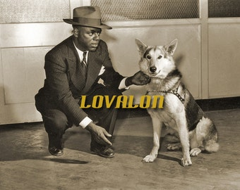 Butch... Deluxe Art Print... 1940's Vintage Snapshot Photo... Available In Various Sizes