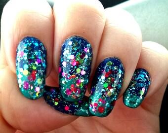 Summer Daze handmade custom nail polish