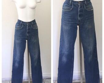 80s Mom Jeans, High Rise Jeans, High Waist, Blue Jeans, Medium Wash, 29 Waist, Womens Jeans, Boyfriend Jeans, Boot Cut, Tapered Leg, 29 x 32