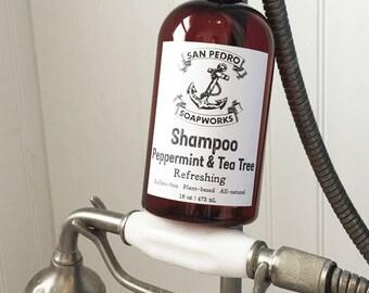 Peppermint & Tea Tree Shampoo