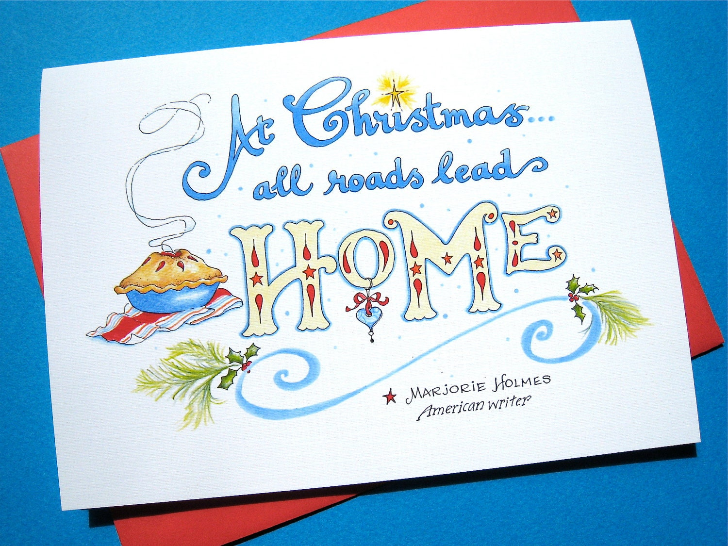 Christmas quote card home christmas card happy holidays zoom kristyandbryce Image collections