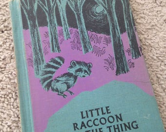 Little Raccoon and the Thing in the Pool by Lilian Moore 1963