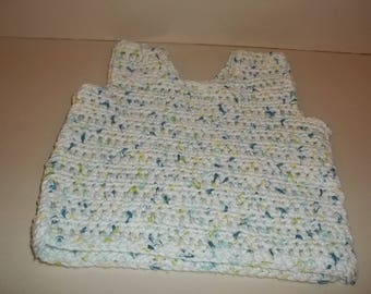 crochet pattern baby tank top easy pattern