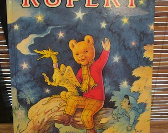 Vintage Rupert the Bear Annual 1979 Daily Express Annual