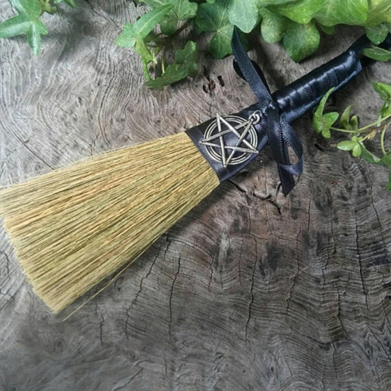 Witches Broom - Witches Besom - Altar Broom - Wiccan Besom - Altar Besom - Wiccan Broom - Broom - Witchcraft - Witchcraft Tools