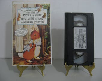 Beatrix Potter - Peter Rabbit - The Tale of Pigling Bland - Circa 1993  (VHS Tape)