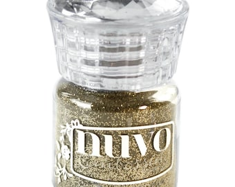 Nuvo Embossing Powder .74 oz. Gold Enchantment