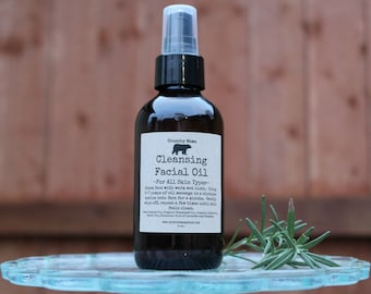 Cleansing Facial Oil-All Skin Types