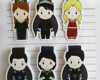 Royal court || Magnetic Bookmark