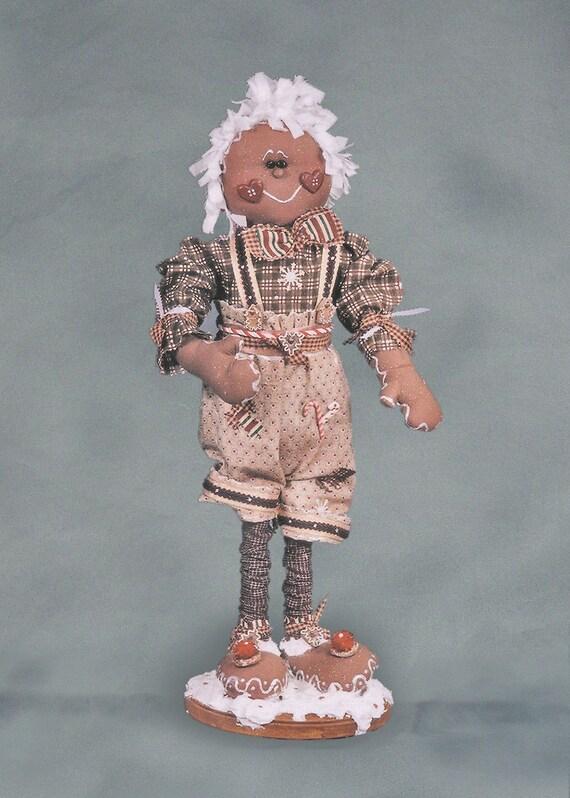 """Pattern: Geoffrey - 20"""" Gingerbread Boy"""