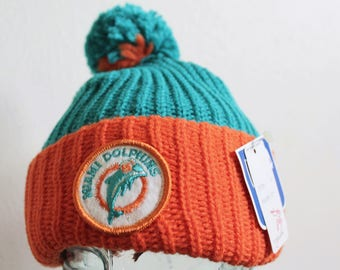 b60d27819fb09 ... best danny the dolphin crochet animal hat by nuttynoggins vintage 1990s miami  dolphins hat 30b82 95cc7