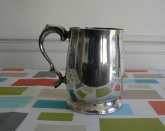 Glorious, Shiny Pint Tankard - EPNS A1 Plate, From Viners of Sheffield.