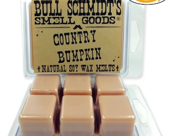 2 Pack Scented Soy Wax Melts Country Bumpkin