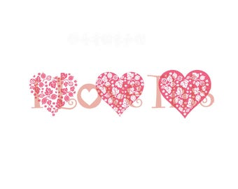 Pyrex Gooseberry heart vinyl decal