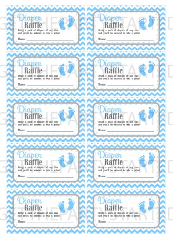 It is a photo of Enterprising Free Printable Baby Shower Raffle Tickets