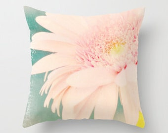 Throw Pillow - Home Decor -  photography by RDelean, flower, pink, pink, sweet, soft