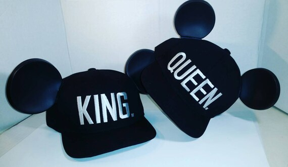 Mickey Ears. King Ears. Queen Ears. Mouse Ears.