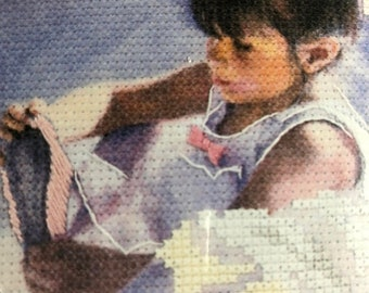 MAYniaSALE Dimensions, Cinderella, Ballerina, No Count, Cross Stitch Kit, finished size, 7 by 5 inches