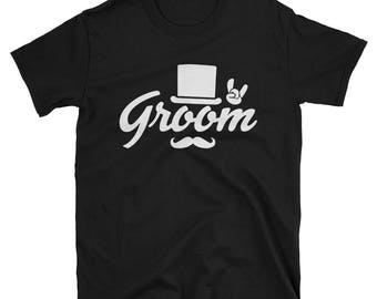 Groom Bachelor Party Top Hat T-Shirt