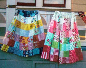 Charming Patchwork Skirt Pattern and Instructional DVD by Annie Smith 2012 Sew Sewing Make Create