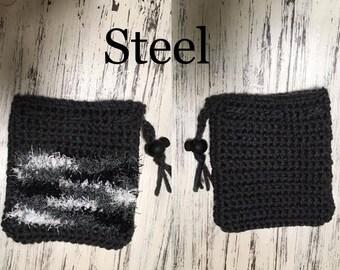 Dual Sided Soap Scrubbie Soap Bags