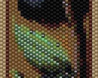 Peyote Bracelet Pattern - -Medieval 10
